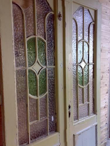 Tür Glas Ersetzen ~ Doppelfl Wohnungseingangstür um 1900